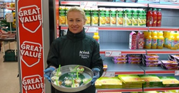 Activia In-store Sampling Campaign