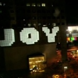 BMW spread the joy with this 3D building projection
