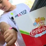 Coca-Cola Village experiential event