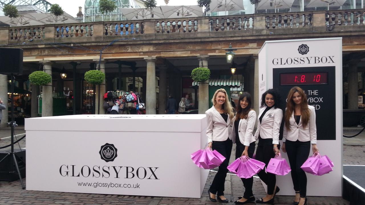 Glossybox PR stunt 001