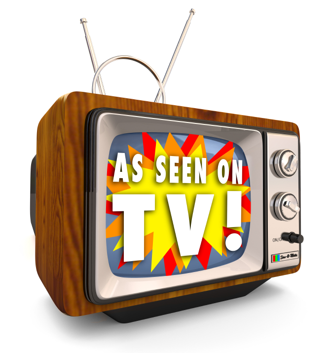 As Seen on TV - Old Fashioned Television
