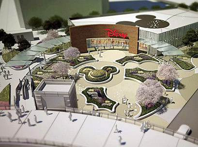 Disney  – New giant Shanghai Disney store set for 2015