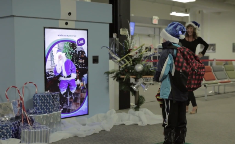 Westjet Experiential Marketing Campaign
