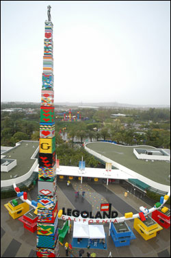 Worlds Biggest Lego Tower