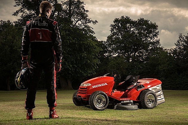 Honda and the Mean Mower – marketing with a difference.