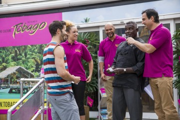 Dwight Yorke Launches A Destination Tobago Awareness Campaign, 'If Only Every Day Was A Day In Tobago'
