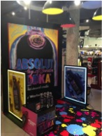 Absolut Vodka's latest experiential campaign