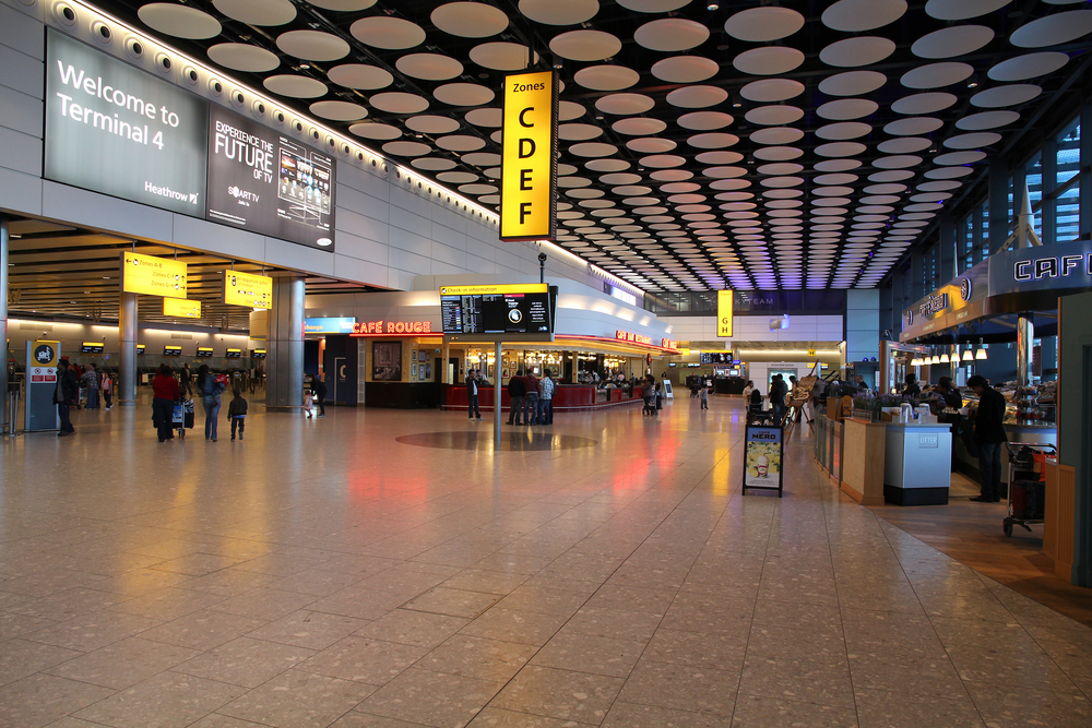 Experiential marketing lands at Heathrow